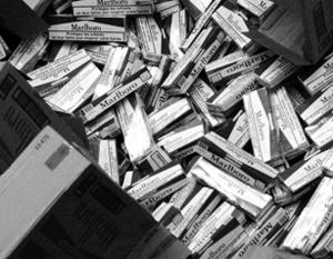 Контрабанда сигарет считается еще более выгодным бизнесом, чем торговля наркотиками