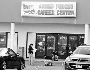 Случаи стрельбы у объектов американских военных происходят регулярно