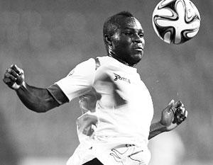 Африканский футболист извинился за то, что не сдержался