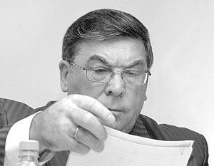 Замглавы фракции «Единая Россия» Валерий Рязанский
