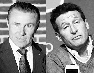 Украинец Сергей Бубка и британец Себастьян Коэ борются за пост главы IAAF