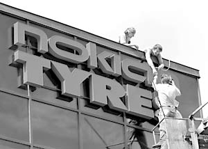 Финская компания Nokian Tyres открыла во Всеволожске завод по производству шин