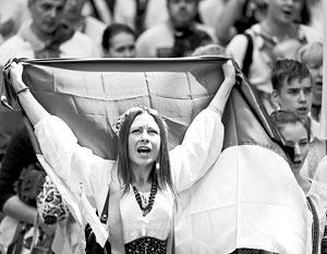 Оппозиция в Верховной раде надеется, что одобренный в Киеве закон может стать «первым шагом» к миру в Донбассе