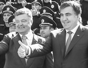 Саакашвили нужно воспринимать именно как проводника интересов Порошенко