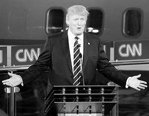 Трамп уверенно чувствует себя в роли лидера гонки