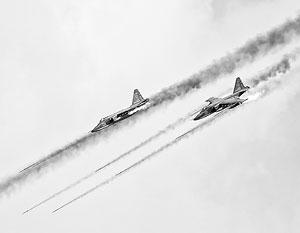 Российские самолеты начали выполнять боевые задачи в Сирии