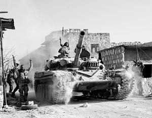 У сирийской правительственной армии существуют первоочередные задачи