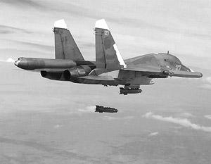Российские самолеты полностью уничтожили крупный укрепрайон боевиков ИГ близ Алеппо