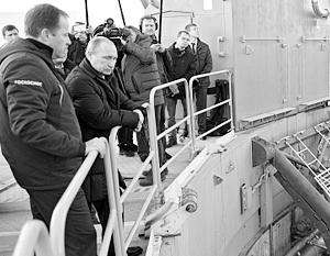 После посещения объектов космодрома Путин устроил ответственным за его строительство небольшой разнос