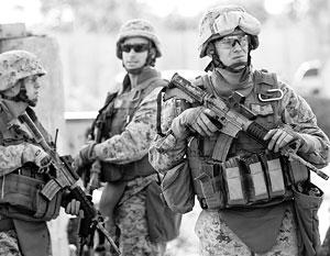 Создание так называемых зон безопасности может предполагать в том числе ввод американского контингента – разумеется, без ведома законного правительства