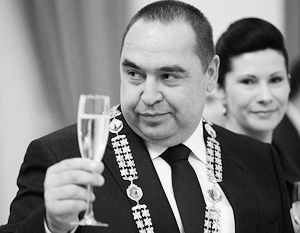 Плотницкий не пользовался в Луганске военным авторитетом и по этой причине легко принимал постороннюю помощь