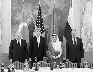 Четыре министра два часа обсуждали сирийское урегулирование