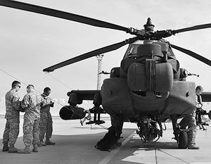 Если американские вертолеты Apache и передадут в помощь Ираку, то иракскому командованию экипажи подчиняться не будут
