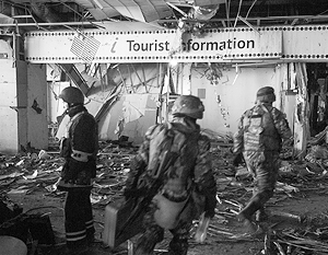 Донецкий аэропорт остается неспокойным местом