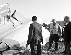 Российские и египетские следователи работают на месте крушения A321