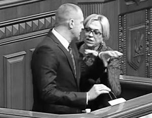 Бить коллег в Верховной раде вошло у депутатов в привычку