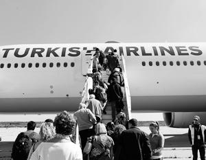 Турки перестанут летать в Москву, как до этого россияне отказались летать в Анталью