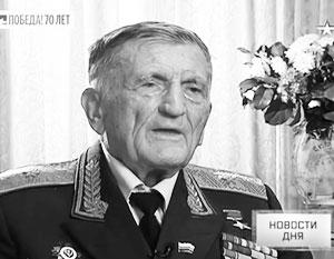 Генерал-майор Сергей Крамаренко совершил сотни боевых вылетов