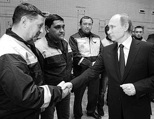 Путин запустил первую нитку энергомоста из Кубани в Крым