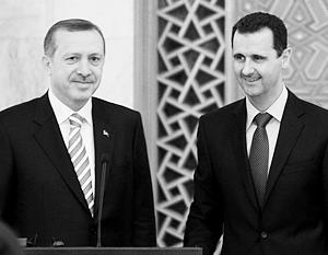 Еще относительно недавно Эрдоган и Асад казались друзьями