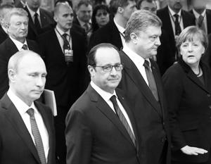 Лидеры «нормандской четверки» в последний момент договорились продлить минские соглашения