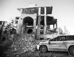 Столица Йемена Сана стала постоянной целью атак саудовских ВВС