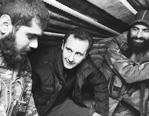 Опорой Башара Асада является армия, а руководит армией религиозное меньшинство алавитов