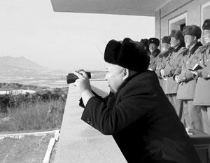 Лидер КНДР Ким Чен Ын регулярно посещает армейские части