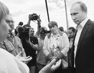Доверие к Путину выдержит испытание кризисом