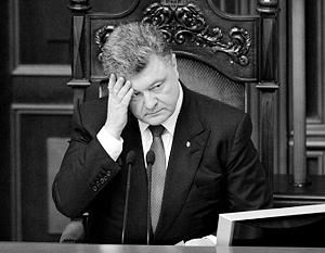 Накануне Порошенко выдвинул новые условия, о которых не упоминалось в минских соглашениях