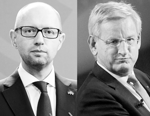 СМИ отдали Карлу Бильдту место Арсения Яценюка