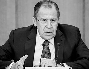 Мы предложили американцам повторить принципы невмешательства в наших отношениях, но они ушли от этого, отметил Сергей Лавров