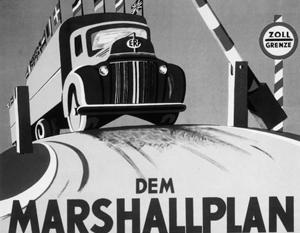 «План Маршалла» был разработан в годы холодной войны