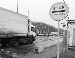 Украинская власть умывает руки в решении проблемы с транзитом иностранных грузов