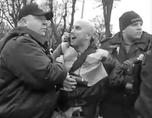 По мнению наблюдателей, работа полиции была направлена исключительно на то, чтобы задержать Филлипса