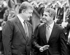 Болгарский лидер был удостоен награды «за единство украинской нации»