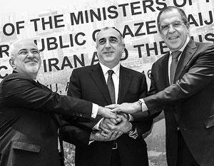 Главы МИД России, Азербайджана и Ирана договорились о новом торговом маршруте