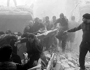 Городу Алеппо, ставшему главной ареной боевых действий, грозит новое наступление террористов
