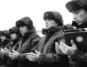 Призывники из Чечни будут служить в Российской армии
