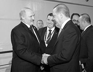 Лукашенко активизирует контакты с Эрдоганом