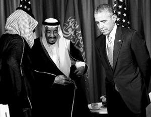 Считается, что сам Обама крайне раздосадован необходимостью дружить с саудовцами