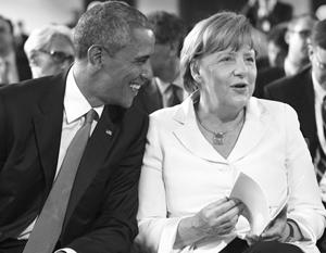 Обама и Меркель хотят успеть заключить трансатлантическое соглашение, пока они у власти