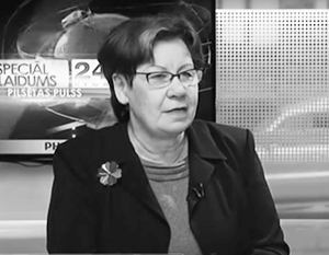 По мнению Руты Паздере, Латвия могла бы измерить не только ущерб, но и прибыль от «советской оккупации»
