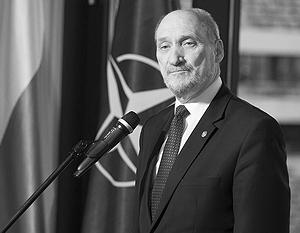 Глава минобороны Польши Мацеревич отметился очередным антироссийским «разоблачением»