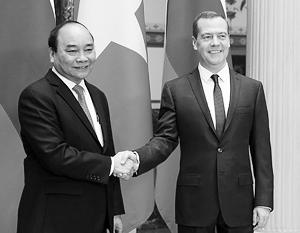 Прибывший на саммит АТЭС премьер Вьетнама уже провел переговоры с Дмитрием Медведевым