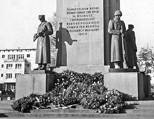 В Польше под снос пойдет несколько десятков памятников советским воинам-освободителям