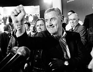 Премьер-министр Мило Джуканович все последние годы был главным инициатором присоединения своей страны к НАТО