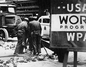 Толпы безработных Владимир Гройсман предложил трудоустраивать на строительстве дорог – как во времена Великой депрессии