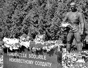 Памятник советскому Воину-освободителю на военном кладбище