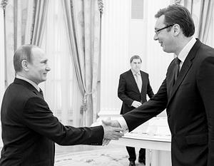 Встреча двух лидеров была неожиданной и короткой
